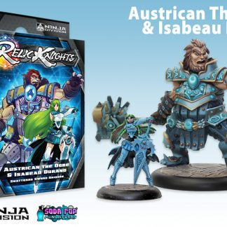 Austrican the Ogre and Isabeau Durand