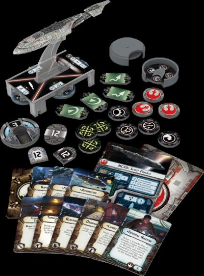 MC30c Frigate Expansion Pack Contents