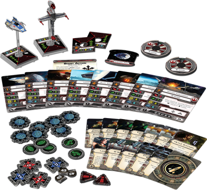 Rebel Aces Expansion Pack Contents