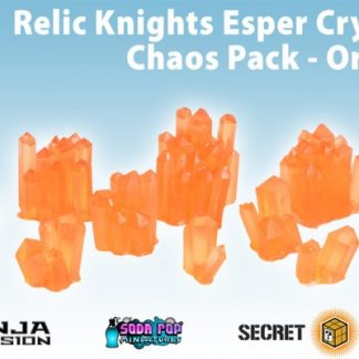 Relic Knights Orange Esper Crystals Chaos