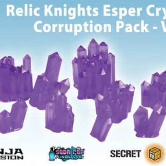 Relic Knights Violet Esper Crystals Corruption