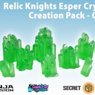 Relic Knights Green Esper Crystals - Creation