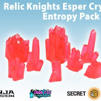 Relic Knights Red Esper Crystals Entropy