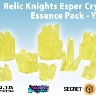 Relic Knights Yellow Esper Crystals Essence Yellow