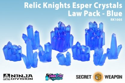 Relic Knights Blue Esper Crystals Law