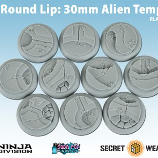 Round Lip 30mm Alien Temple Bases