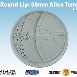 80mm Alien Temple Base