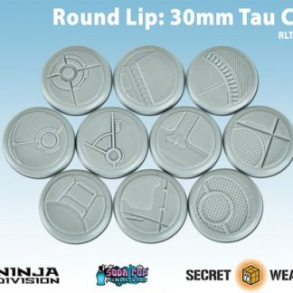 Round Lip 30mm Tau Ceti Bases