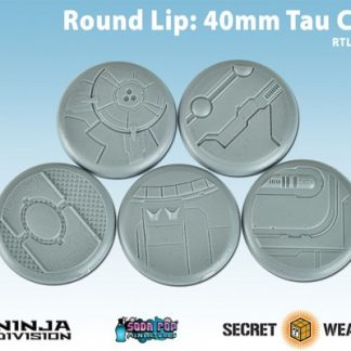 Round Lip 40mm Tau Ceti Bases