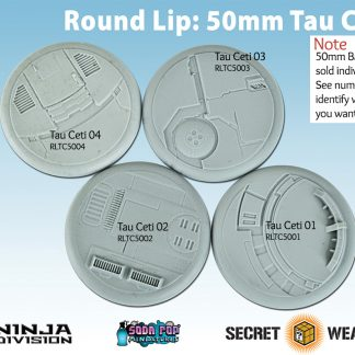 Round Lip 50mm Tau Ceti Bases
