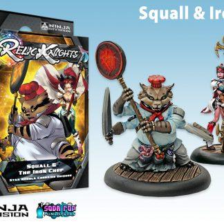 Squall & Iron Chef