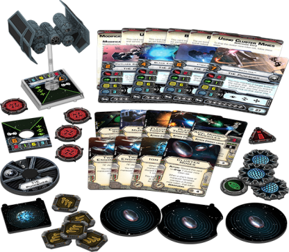 TIE Punisher Expansion Pack Contents