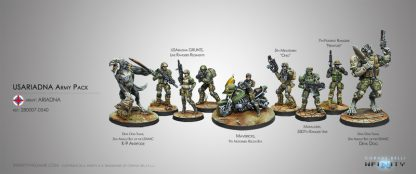 USAriadna Army Pack Miniatures
