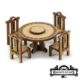 Chinese Restaurant Tables