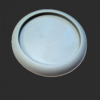 Round Lipped 50mm Hollow Blank Base (1)