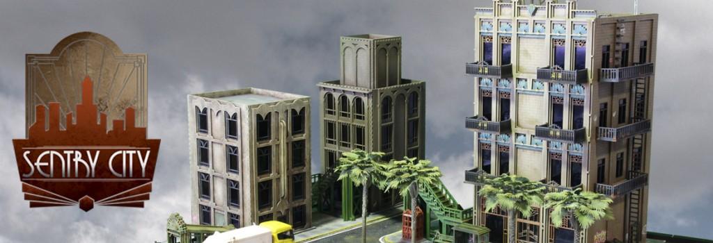 Sentry City cityscape