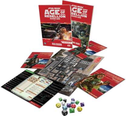 Star Wars: Age of Rebellion Beginner Game Contents