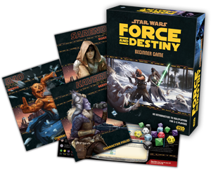 Star Wars: Force and Destiny Beginner Game Contents