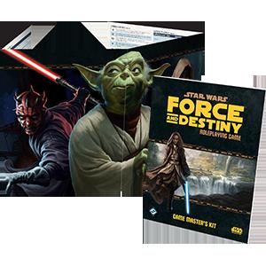 Force and Destiny Game Master's Kit (GMs Kit)
