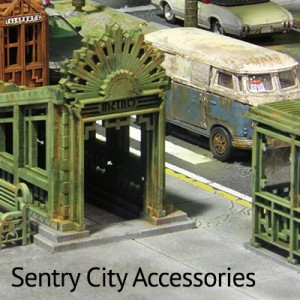Sentry City Accessories