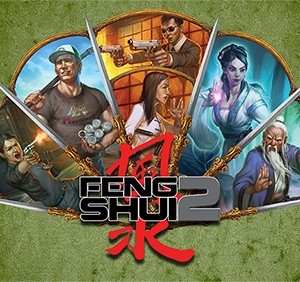Feng Shui 2 Game Master's Screen