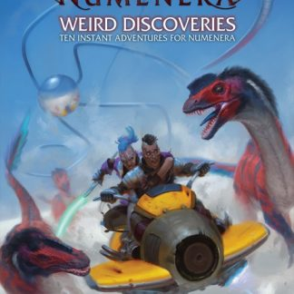 Weird Discoveries: Ten Instant Adventures for Numenera Cover