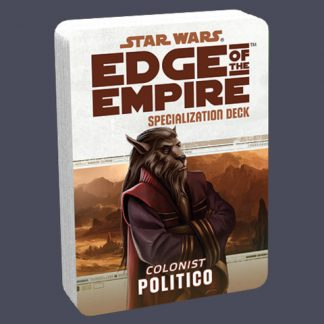 Politico Specialization Deck for Colonists