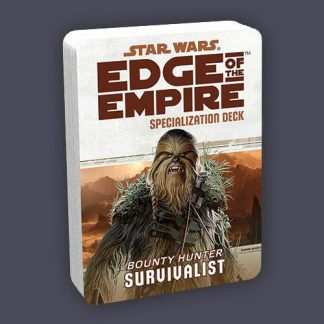 Survivalist Specialization Deck for Bounty Hunters