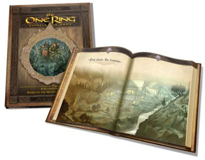 The One Ring Core Rulebook Inside
