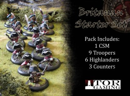 Britanan Starter Set with Contents