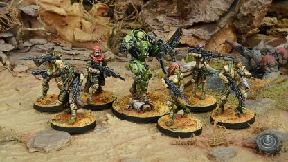 Operation Red Veil Miniatures Haqqislam force
