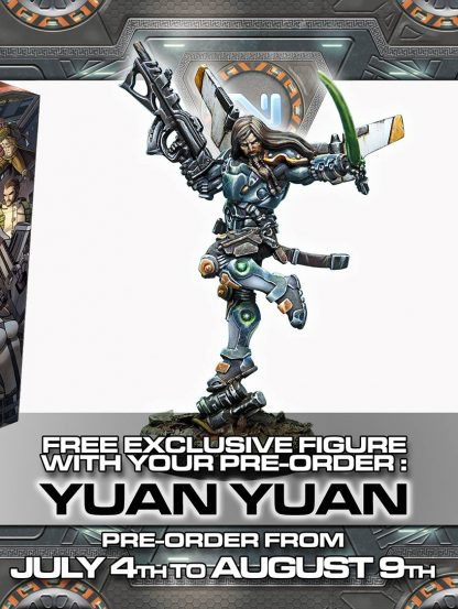 Yuan Yuan with Boarding Shotgun Pre-Order Exclusive Miniature