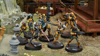 Operation Red Veil Miniatures Haqqislam force Yu Jing force
