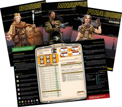 Star Wars: The Force Awakens Beginner Game Character Folios