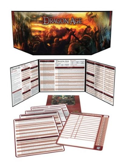 Dragon Age Game Master's Kit, Revised Contents