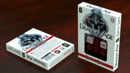 Dragon Age Dice Set - Back and Front