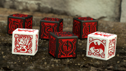Dragon Age Dice Set Contents