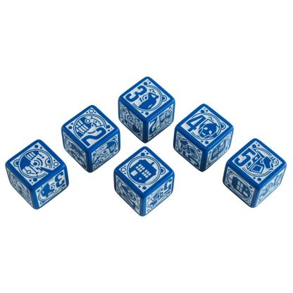 Doctor Who RPG Deluxe Dice Set - showing all sides