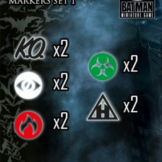 Effect Markers I - Set 1 for Batman Miniature Game