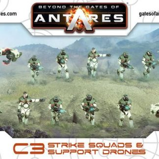 Concord Strike Squad - 2 Squads with Support Drones