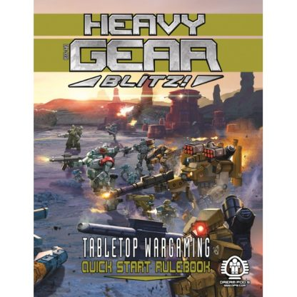 Heavy Gear Blitz - Tabletop Wargaming - Quick Start Rulebook
