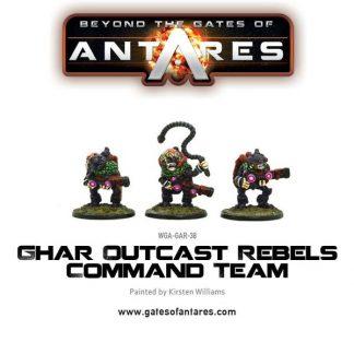 Ghar Outcast Rebels Command Team