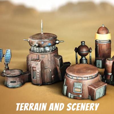 Heavy Gear Terrain & Scenery Products | Shiny Games