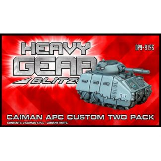 Caiman APC Custom Two Pack
