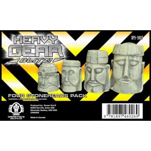 Four Stoneheads Pack