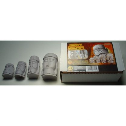 Four Stoneheads Pack contents