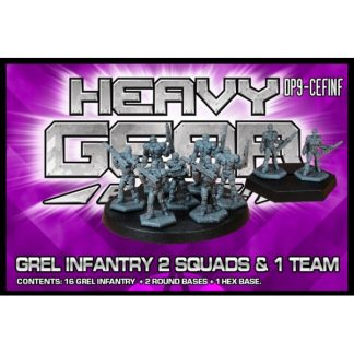GREL Infantry (2 Squads & 1 Team)