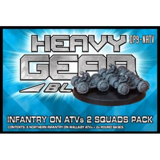 Northern Infantry on Wallaby ATVs (2 Squads Pack)