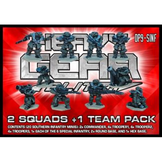 Southern Infantry (2 Squads & 1 Team)