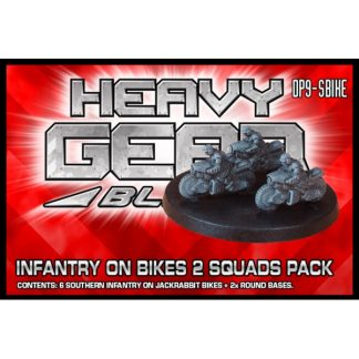 Southern Infantry on Jackrabbit Bikes (2 Squads Pack)